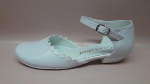 217 – Buty komunijne dla dziewczynki w kwiaty