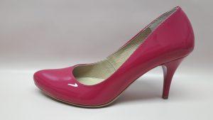 186 Różowe buty damskie – fuksja